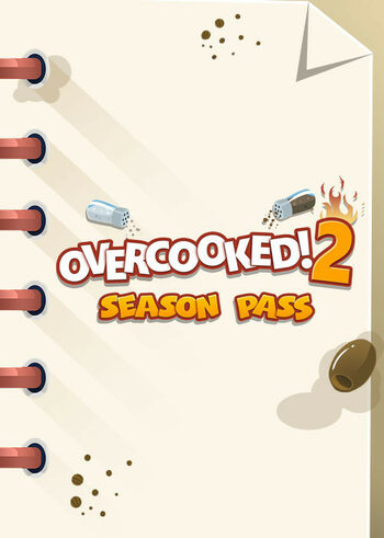 Overcooked! 2 - Season Pass (DLC) Steam Key GLOBAL