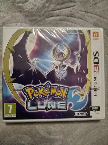 Pokémon Moon with bonus Lunala Figure Nintendo 3DS