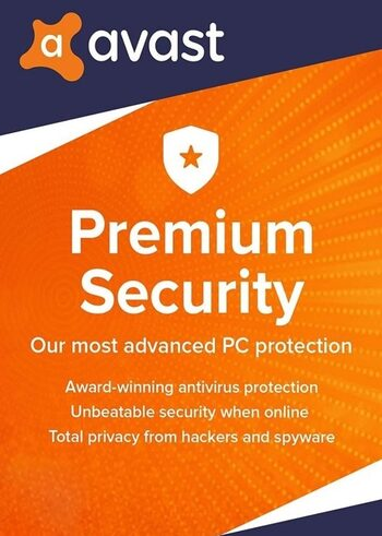 Avast Premium Security 1 Device 3 Year Avast Key GLOBAL