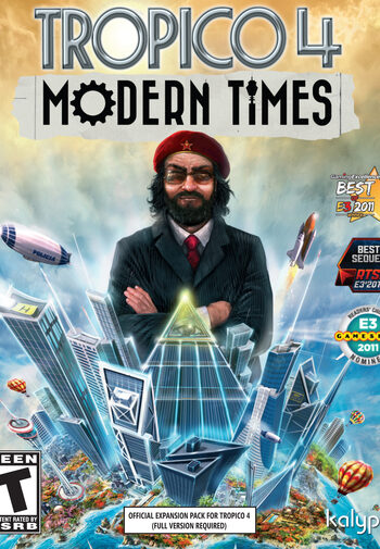 Tropico 4: Modern Times (DLC) Steam Key GLOBAL