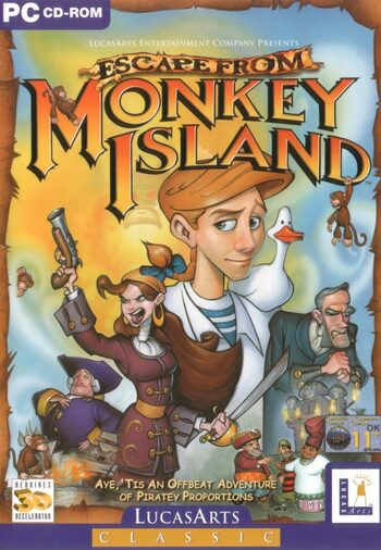 Escape from Monkey Island Steam Key GLOBAL