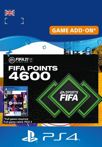 FIFA 21 -  4600 FUT Points (PS4) PSN Key UNITED KINGDOM