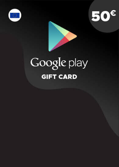 Google Play Gift Card 50 EUR Key EUROPE