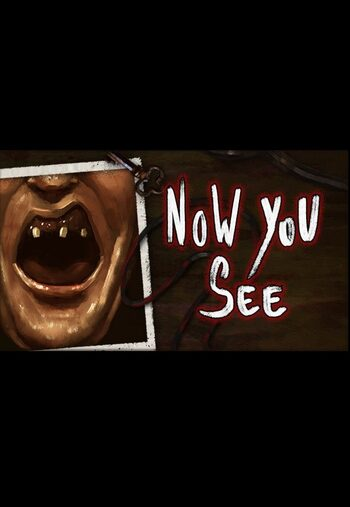 Now You See - A Hand Painted Horror Adventure Steam Key GLOBAL