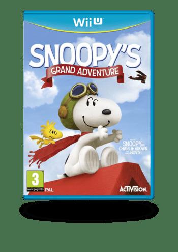 The Peanuts Movie: Snoopy's Grand Adventure (Carlitos Y Snoopy El Videojuego) Wii U