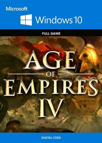 Age of Empires IV - Windows 10 Store Key GLOBAL