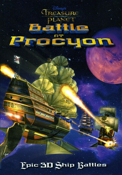 Disney Treasure Planet: Battle at Procyon Steam Key EUROPE фото