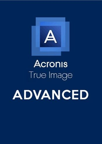 Acronis True Image Advanced 250 GB Cloud 1 Device 1 Year Acronis Key GLOBAL