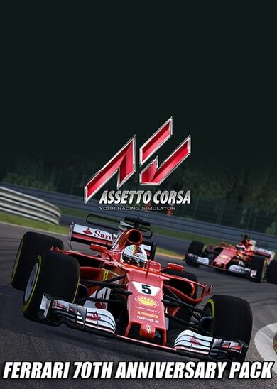 Assetto Corsa - Ferrari 70th Anniversary Pack (DLC) Steam Key GLOBAL
