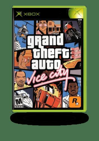 Grand Theft Auto: Vice City Xbox