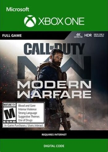 Call of Duty : Modern Warfare (édition standard) (Xbox One) Xbox Live clé GLOBAL