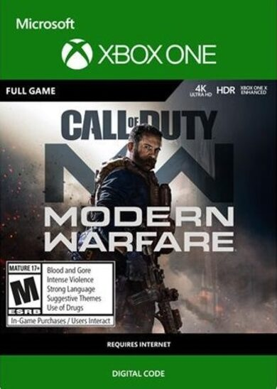 Call of Duty: Modern Warfare (Standard Edition) (Xbox One) Xbox Live Key EUROPE