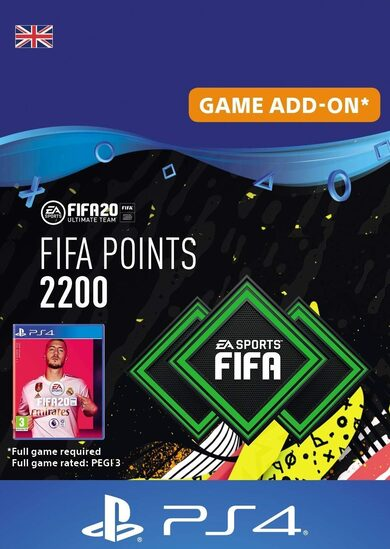 FIFA 20 - 2200 FUT Points (PS4) PSN Key UNITED KINGDOM