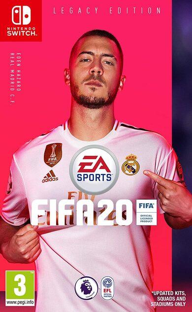 FIFA 20 - Legacy Edition (Nintendo Switch) eShop Key GLOBAL