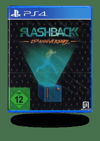 Flashback 25th Anniversary PlayStation 4