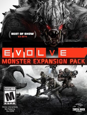Evolve: Monster Expansion Pack (DLC) Steam Key GLOBAL