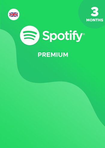 Spotify Premium 3 Months Key UNITED KINGDOM