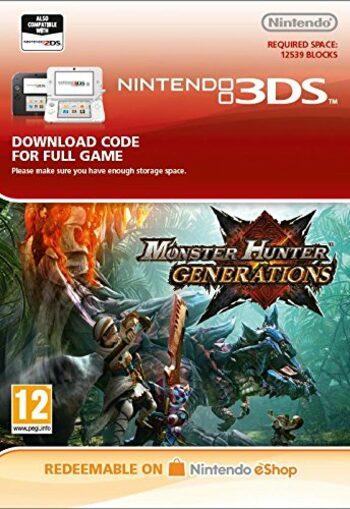 Monster Hunter Generations (Nintendo 3DS) eShop Key EUROPE