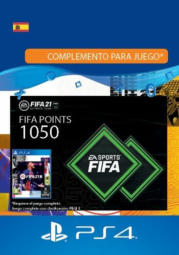 FIFA 21 - 1050 FUT Points (PS4) PSN Key SPAIN