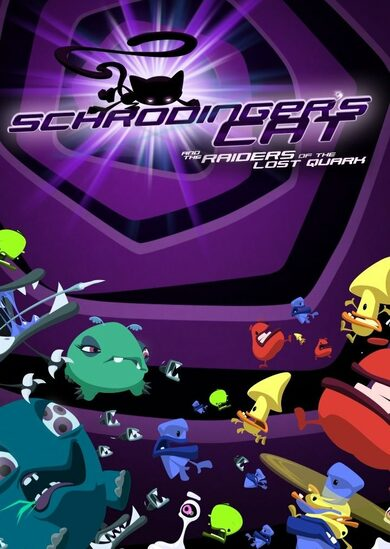 Schrödinger's Cat And The Raiders Of The Lost Quark Steam Key EUROPE