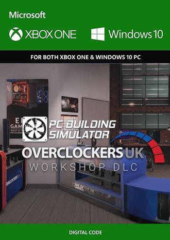 PC Building Simulator - Overclockers UK Workshop (DLC) PC/XBOX LIVE Key EUROPE
