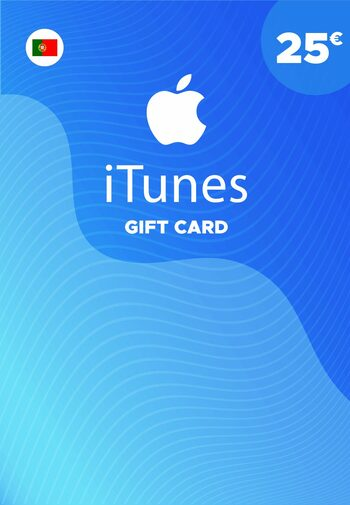 Apple iTunes Gift Card 25 EUR iTunes Key PORTUGAL