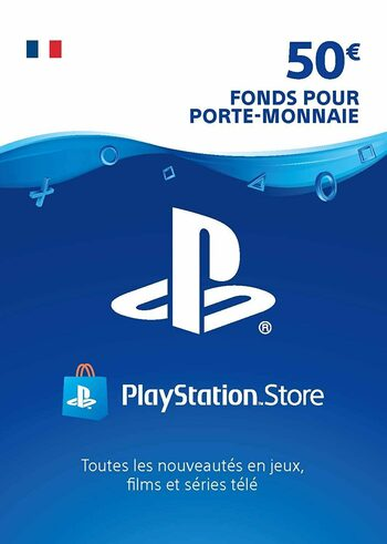 Carte PlayStation Network 50 EUR (FR) Carte PSN FRANCE