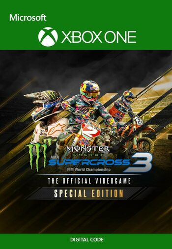 Monster Energy Supercross: The Official Videogame 3 - Special Edition (Xbox One) Xbox Live Key UNITED STATES