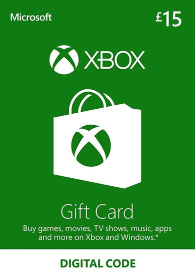 Xbox Live Gift Card 15 GBP Xbox Live Key UNITED KINGDOM