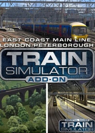 Train Simulator - East Coast Main Line London-Peterborough Route Add-On (DLC) Steam Key EUROPE