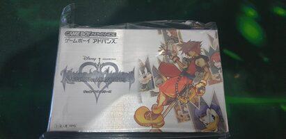 Kingdom Hearts: Chain of Memories Game Boy Advance
