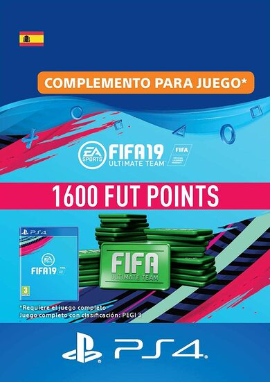 FIFA 19 - 1600 FUT Points (PS4) PSN Key SPAIN