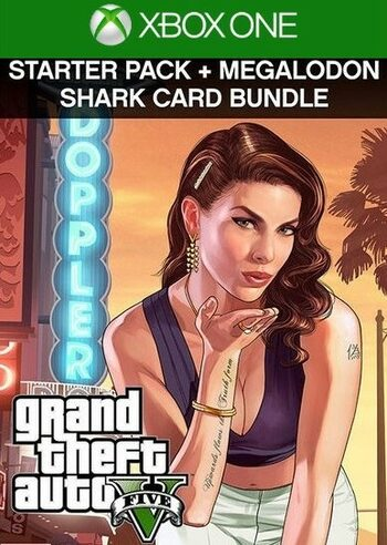 Grand Theft Auto V: Premium Online Edition & Megalodon Shark Card Bundle (Xbox One) Xbox Live Key UNITED STATES