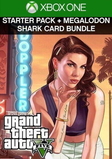 Grand Theft Auto V: Premium Online Edition & Megalodon Shark Card Bundle (Xbox One) Xbox Live Key UNITED STATES фото