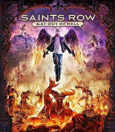Saints Row: Gat out of Hell (First Edition) Steam Key EUROPE