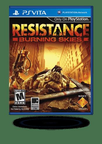 Resistance: Burning Skies PS Vita
