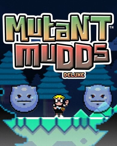 Mutant Mudds Deluxe Steam Key GLOBAL фото