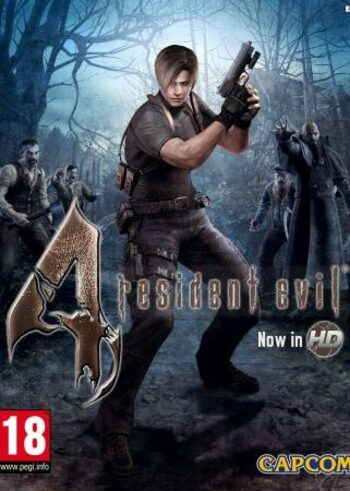 Resident Evil 4 / Biohazard 4 HD Edition Steam Key EUROPE