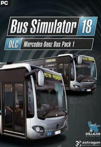 Bus Simulator 18 - Mercedes Benz Bus Pack 1 (DLC) Steam Key GLOBAL