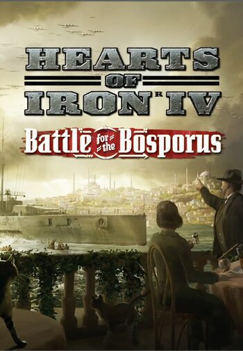 Hearts of Iron IV: Battle for the Bosporus (DLC) Steam Key GLOBAL