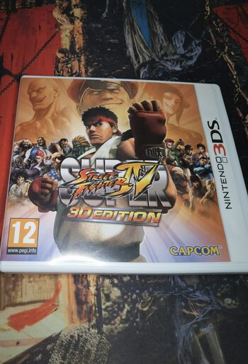 Super Street Fighter IV: 3D Edition Nintendo 3DS
