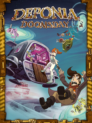 Deponia Doomsday Steam Key GLOBAL