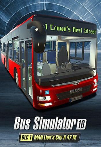 Bus Simulator 16: MAN Lion's City A 47 M (DLC) Steam Key GLOBAL