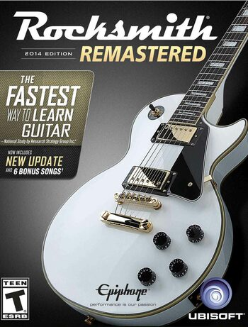 Rocksmith 2014 Remastered Edition Steam Key EUROPE