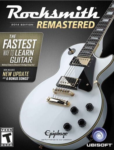 Rocksmith 2014 Remastered Edition Steam Key GLOBAL