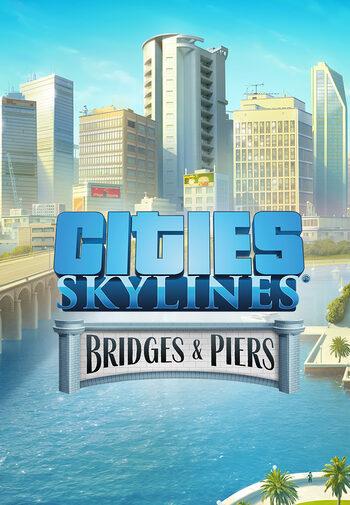 Cities: Skylines - Content Creator Pack: Bridges & Piers (DLC) Steam Key GLOBAL