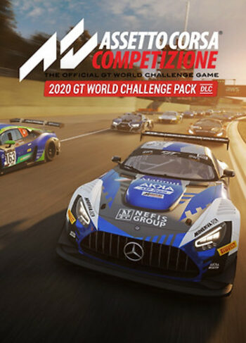 Assetto Corsa Competizione - 2020 GT World Challenge Pack  (DLC) Steam Key GLOBAL