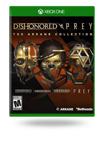 Dishonored & Prey The Arkane Collection Xbox One