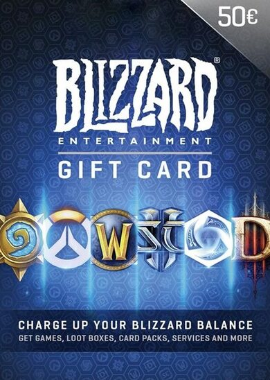 Battle.net Gift Card 50 EUR Battle.net Key EUROPE