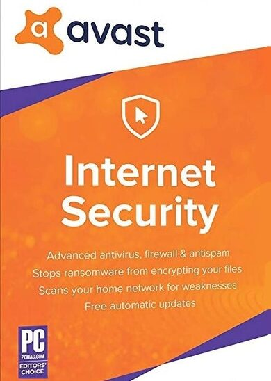 AVAST Internet Security 1 Devices 1 Year Avast Key GLOBAL